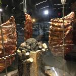 meats on display