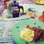 Delicious breakfast at Great Ponsonby Art Hotel