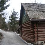 outside cabin