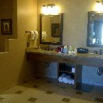 Sandia Resort 1 Bedroom Suite Bathroom