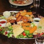 """The HUGE """"Chatter Platter"""" for three"""