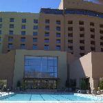 Sandia Resort 1 Bedroom Suite Pool area