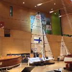 Finland's Olympic sailboat