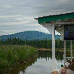 Cruising down the Chena River