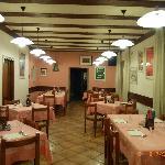"""hotel """"Tomei"""" Vattaro, restauracja"""