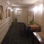 Hawthorne Hotel 2nd Floor Hallway