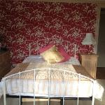 beautiful bedroom with seaview