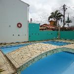 Decoração da piscina