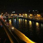 Night shot from the balcony