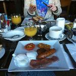 Mammoth breakfast (free as well!)