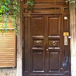 Door to B & B