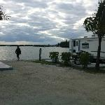 example of RV site on the water
