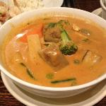 Red vegetable curry