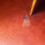 marks in carpet