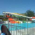 slides at waterpark we got free entry too. (tsilivi waterpark)