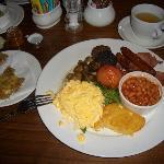 Das beste irische/englische Frühstück meines Lebes