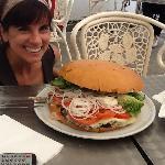 3 kilo San Antonio Burger