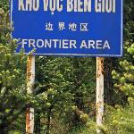 Ha Giang road sign