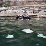 Scuba diving at Bull Shoals