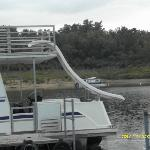 Our houseboat slide :)
