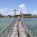 Fishing pier at Hunt's Castle is also great just for walks