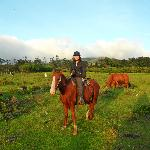Horse ride in our property