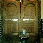 Reading room doors