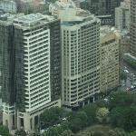 Hotel visto desde la torre mas alta de Sydney ( whitefield)