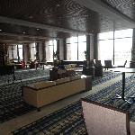 View of the conference area, as you first walk in