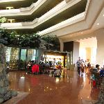 Lobby and the main breakfast / restraurant