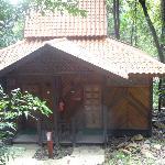 Our rain Chalet room