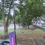 View from room to left-Cartwright Gardens