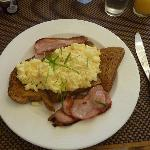 Breakfast cooked to order - delicious!