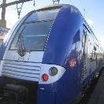 パリからの列車TER