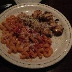 Carrabba's Italian Grill - Shrimp, Scallops, Swirly Spicy Pasta