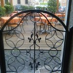 lovely breakfast at a lovely terrasse