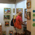 Gallery St. Thomas carries original paintings.