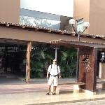 a la entrada de casa andina, Nazca.