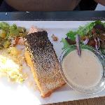 dos de saumon