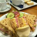 Yummy lunch at Dreams Coffee Lounge