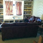 Great room - couches & books