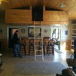 Bar area & loft