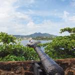 Vu intérieur de fort de San Felipe