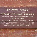 The Salmon Falls Fishing Treaty With the English