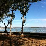 campingplaatsen aan het meer
