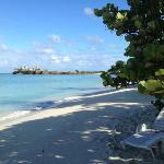la spiaggia privata!!