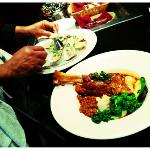 oysters and slow braised lamb shank...yes please!!!