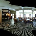 foto 360 do salão (antigo salão de jogos do cassino) - um pouco distorcido