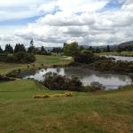 View from one of the stunning par 3's on the course