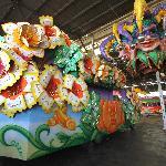 Visit our famous float den!